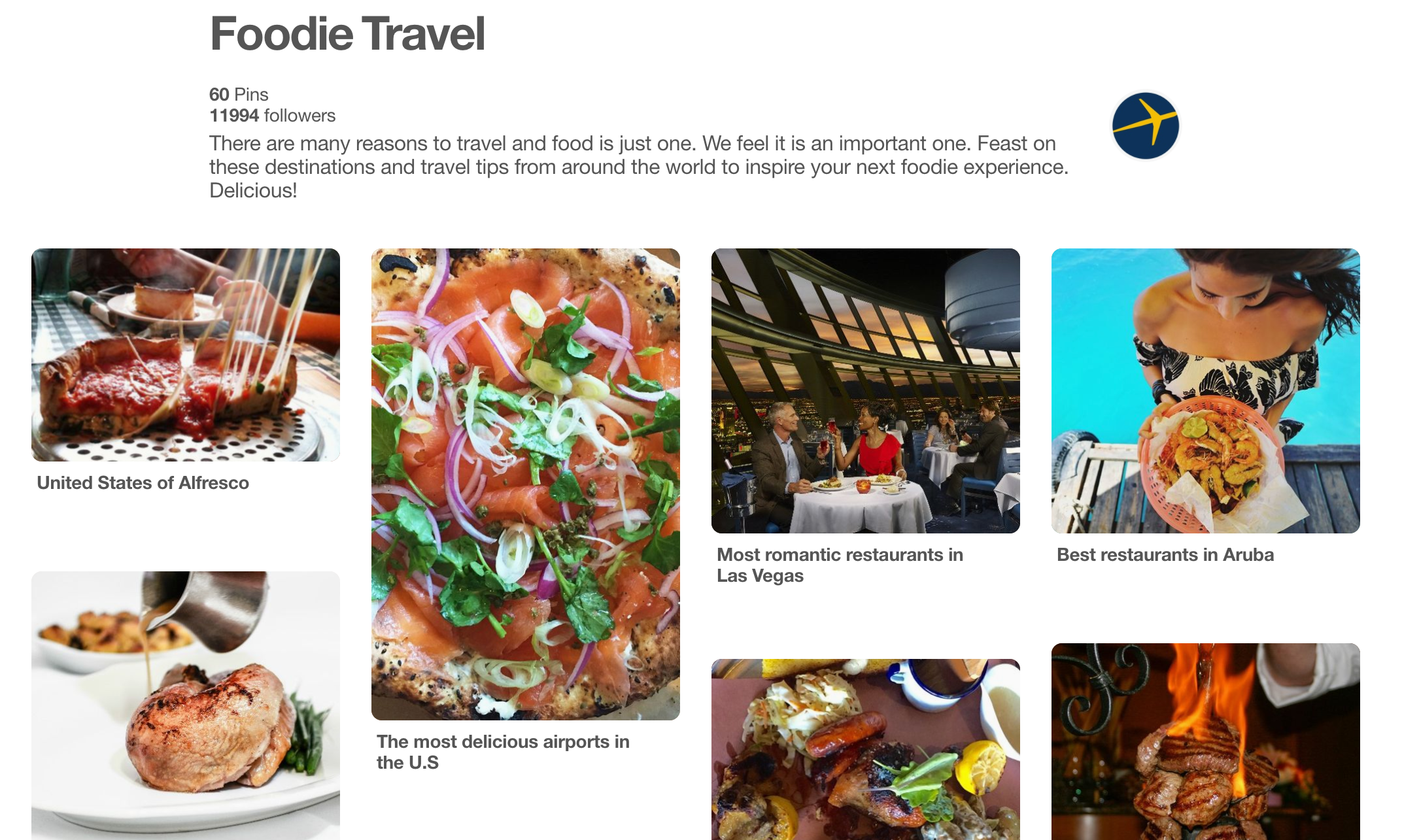 expedia social media marketing pinterest