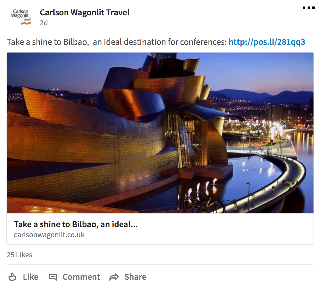 social media marketing for travel agents LinkedIn