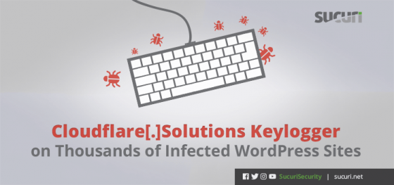 Cloudflare[.]Solutions Keylogger on Thousands of Infected WordPress Sites