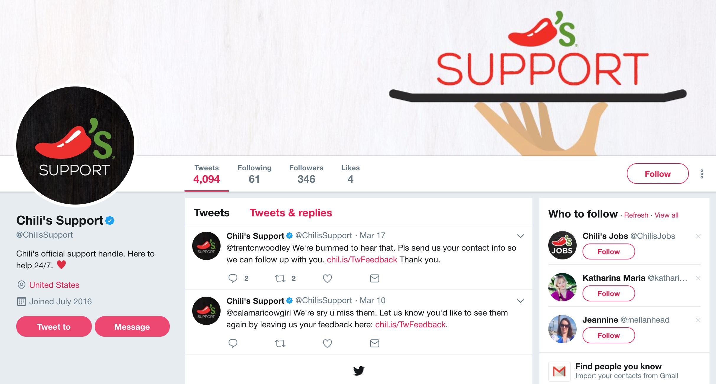 Twitter social media marketing restaurants