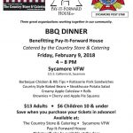 Don't Miss Pay It Forward BBQ Benefit Dinner!