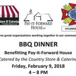Three great organizations working together for Pay It Forward House in Sycamore!