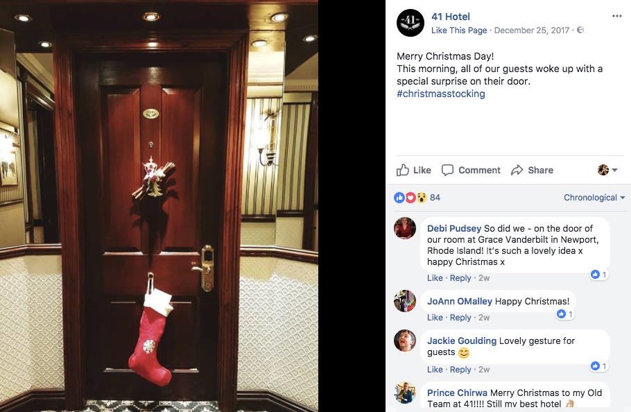 best hotel social media marketing for facebook