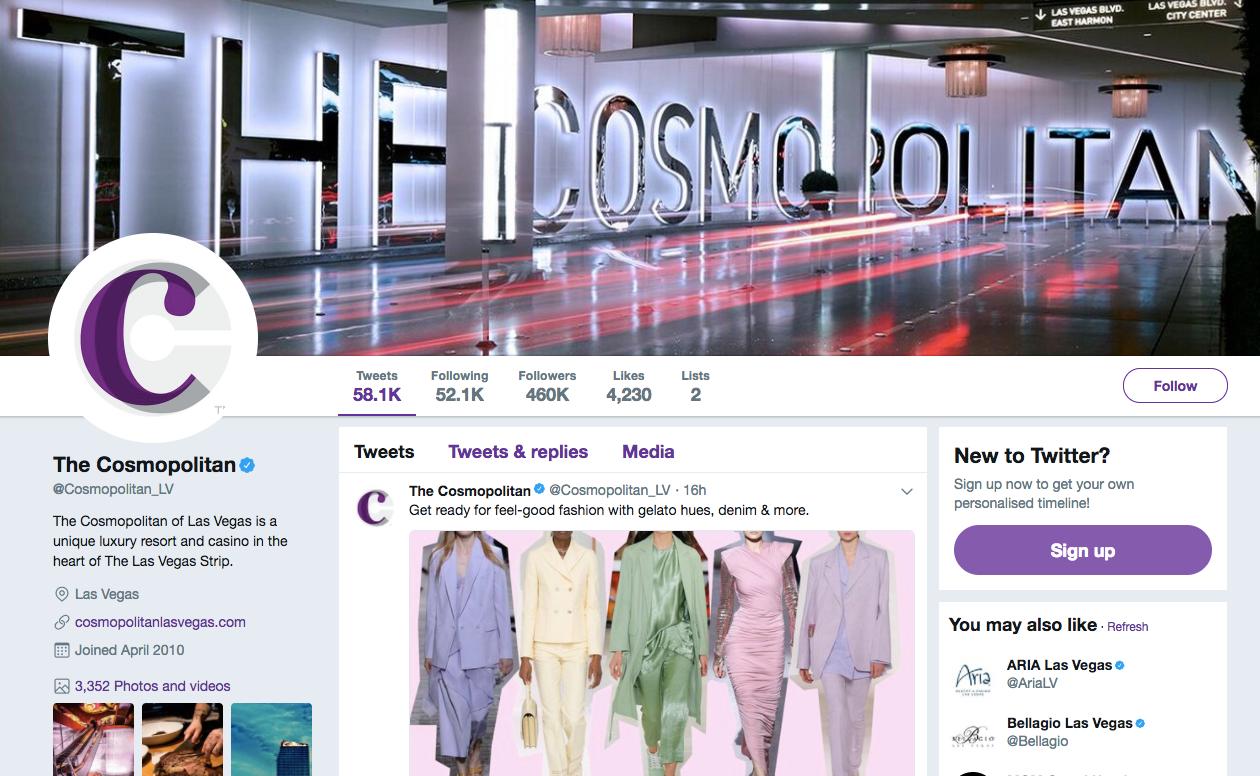 best hotel social media strategy for twitter