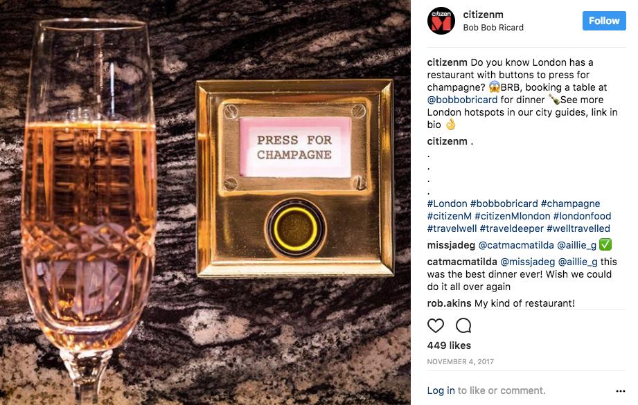 best hotel social media strategy for instagram