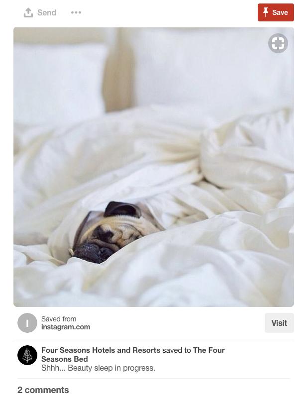 pinterest hotel social media marketing strategy