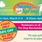 Swing into Spring: Sycamore Park District Golf Club's Annual Pre-Season Sale