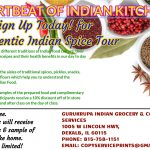 Sign Up for Authentic Indian Spice Tour!