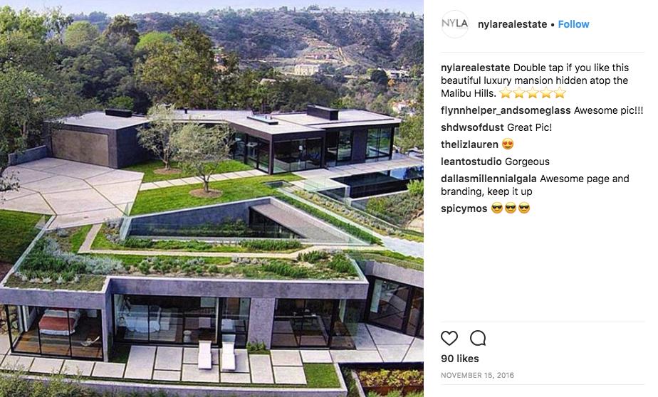 Instagram real estate social media