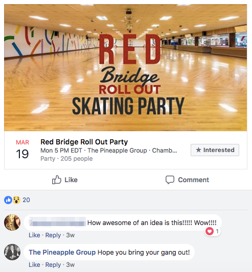 creating a facebook event for real estate agents