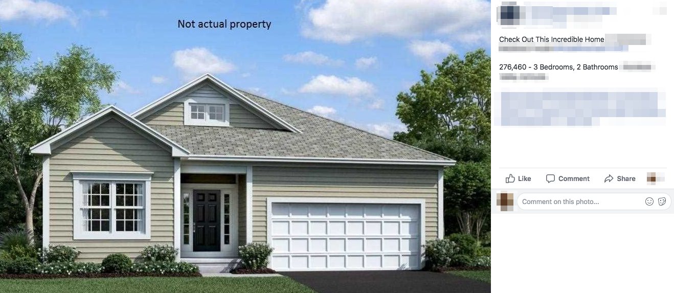 bad real estate social media post ideas