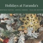 Holidays at Faranda's