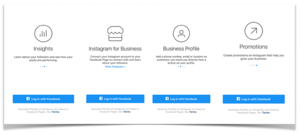 business account instagram